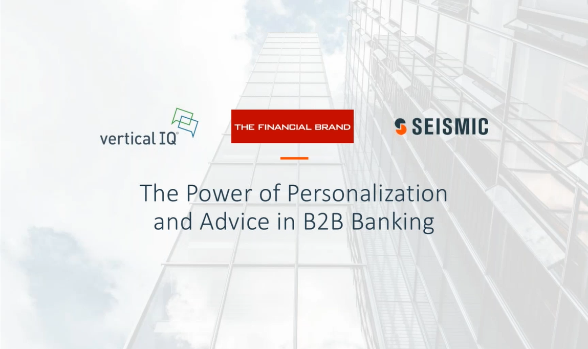 Banking Personalization